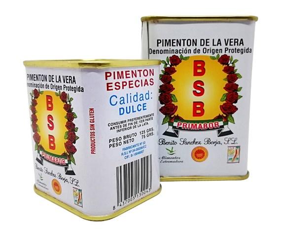 Paprika fumé Doux AOP La Vera - Pimentón de la Vera Dulce