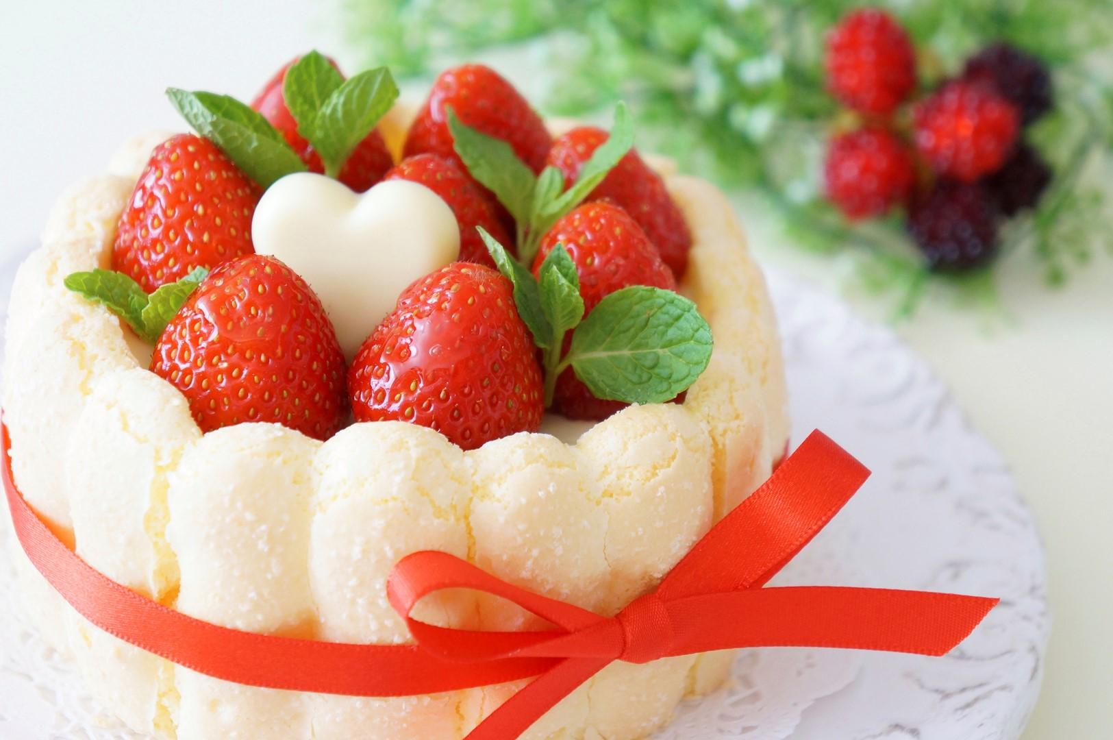 Charlotte aux fraises sur miam miam for Maison de charlotte aux fraises