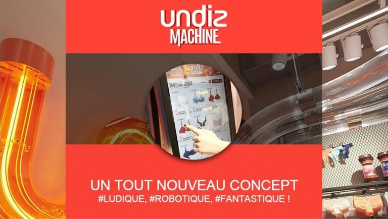 Undiz Machine, le concept-store qui s'habille en digital
